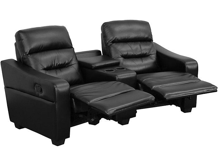 Awesome Abel 2 Seat Theater Loveseat Art Van Home Spiritservingveterans Wood Chair Design Ideas Spiritservingveteransorg