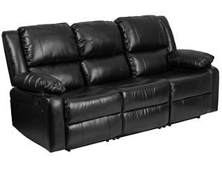 Harmony Leather Reclining Sofa, , large
