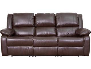 Lagos Brown Reclining Sofa, , large