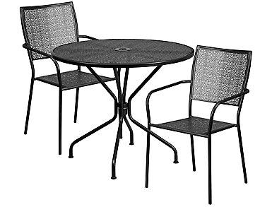 Aspen 3pc Square Dine Set, , large
