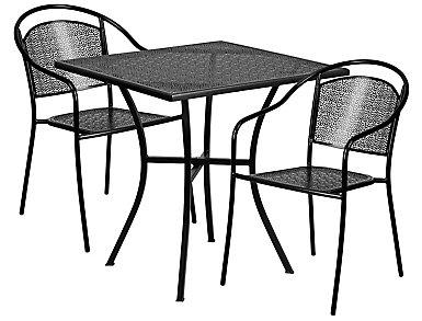 Littleton 3pc Round Dine Set, , large