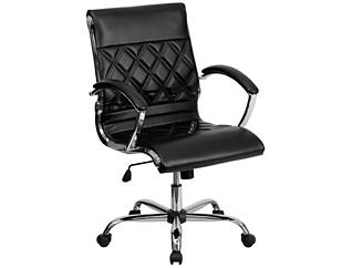 Danna Black Swivel Desk Chair, , large