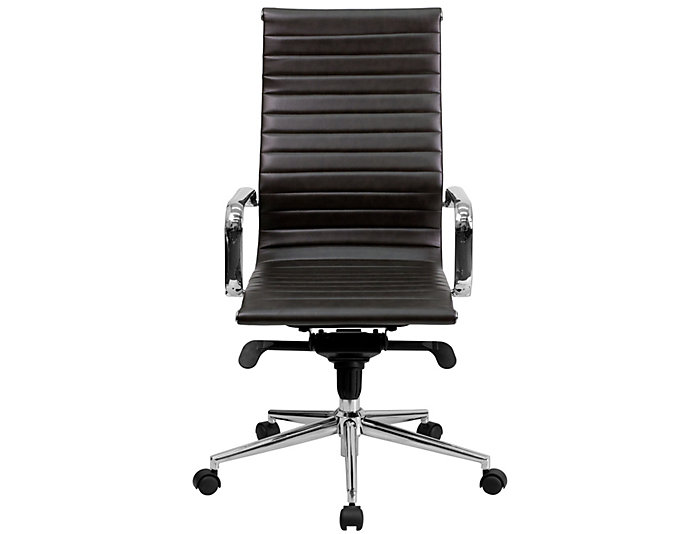 Amazing Alex Brown Swivel Office Chair Art Van Home Theyellowbook Wood Chair Design Ideas Theyellowbookinfo