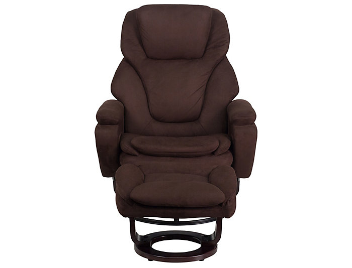 Allure Recliner and Ottoman, , large