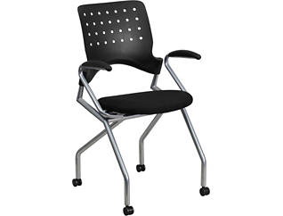 Hedy Nesting Chair With Arms, , large
