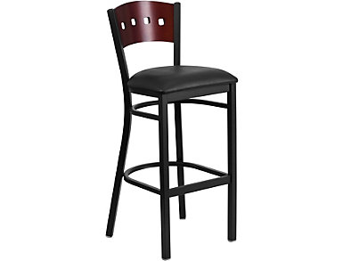 Durango Black Bar Stool, , large