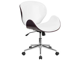 Parker White Mahogany Chair, , large