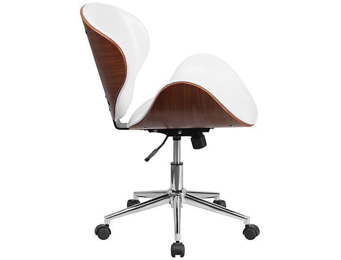 Parker White Walnut Chair, , large