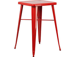 Auburn Red Pub Table, , large