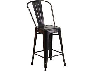 """Paso 24"""" Antique Counter Stool, , large"""