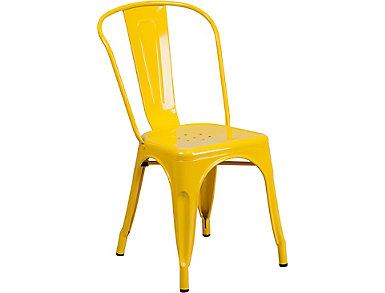 Paso Yellow Dining Chair, , large