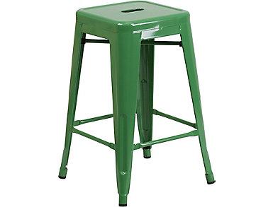 "Waco 24"" Green Counter Stool, , large"
