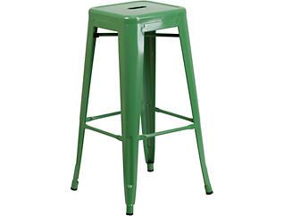 "Waco 30"" Green Barstool, , large"