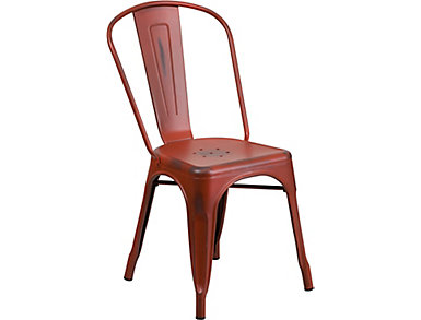Mena Red Dining Chair, , large