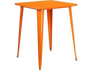 Plano Orange Pub Table, , large