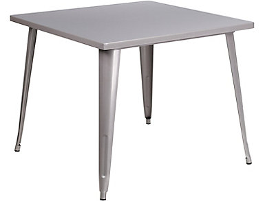 Plano Silver Dining Table, , large