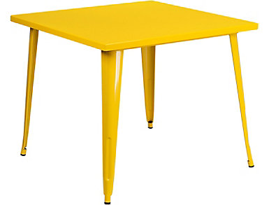 Plano Yellow Dining Table, , large