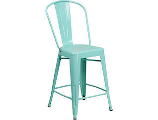 """Paso 24"""" Mint Counter Stool, , large"""