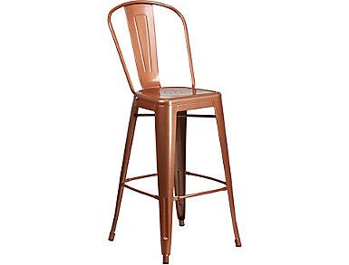 "Paso 30"" Copper Barstool, , large"