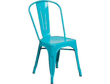 Paso Teal Dining Chair, , large