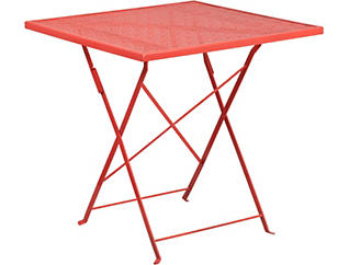 Denton Coral Folding Table, , large