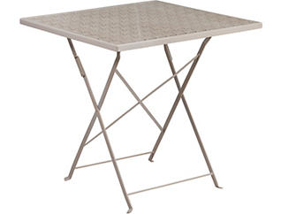 Denton Grey Folding Table, , large