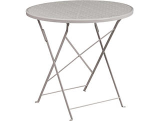 Conroe Grey Folding Table, , large