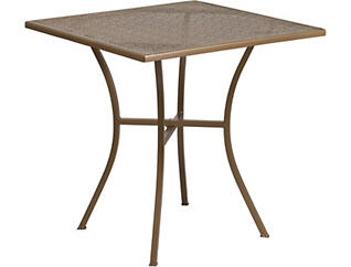Garland Gold Dining Table, , large
