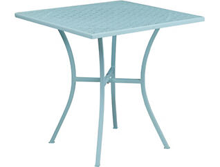 Garland Sky Blue Dining Table, , large
