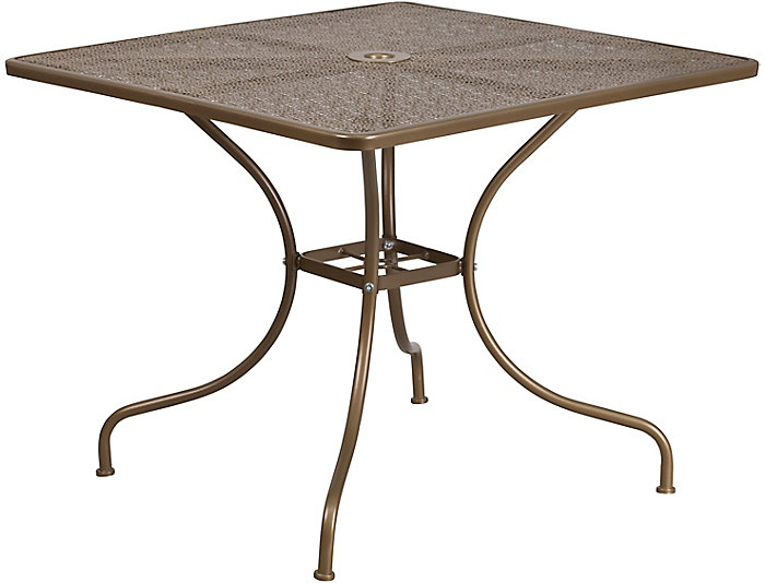 Allen Gold Dining Table, , large