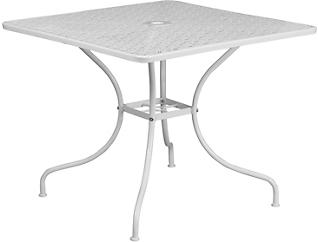 Allen White Dining Table, , large