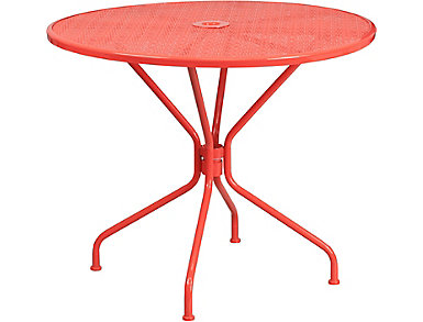 Austin Coral Dining Table, , large