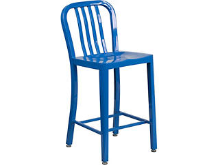 """Hays 24"""" Blue Counter Stool, , large"""