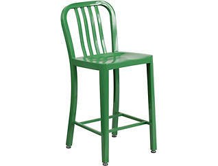 """Hays 24"""" Green Counter Stool, , large"""