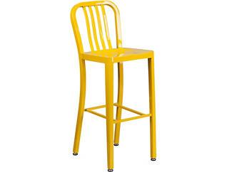 "Hays 30"" Yellow Barstool, , large"