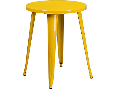 Irving Yellow Dining Table, , large