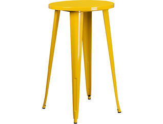 Irving Yellow Pub Table, , large