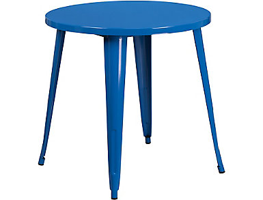 Frisco Blue Dining Table, , large