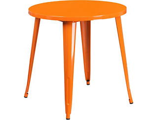 Frisco Orange Dining Table, , large