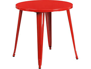 Frisco Red Dining Table, , large