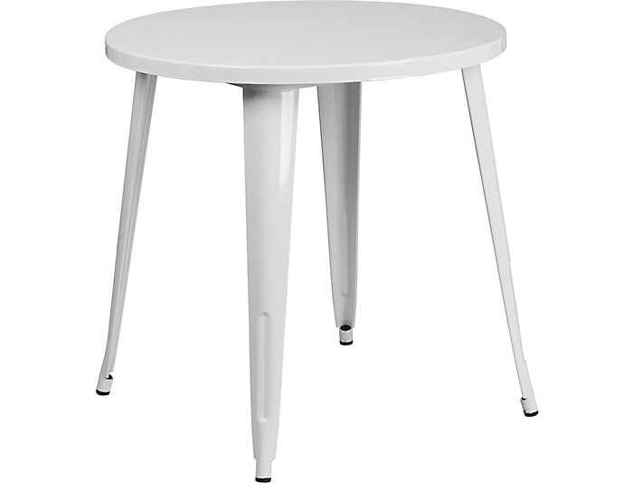 Frisco White Dining Table, , large
