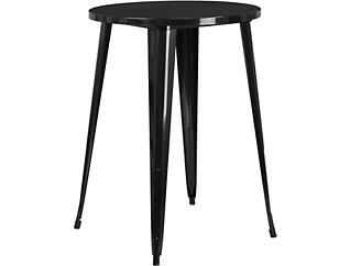 Frisco Black Pub Table, , large