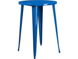 Frisco Blue Pub Table, , large