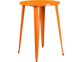 Frisco Orange Pub Table, , large