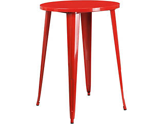 Frisco Red Pub Table, , large