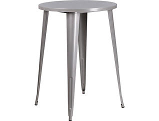 Frisco Silver Pub Table, , large