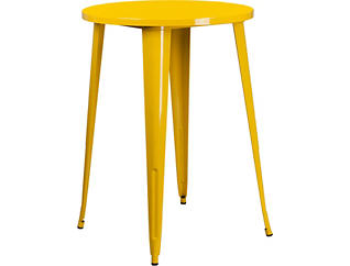 Frisco Yellow Pub Table, , large