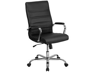 Kaden Black Swivel Desk Chair, , large