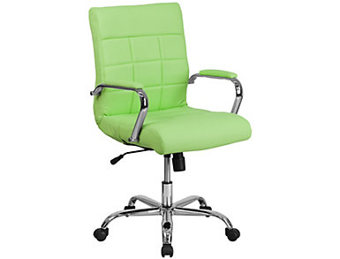Madison Green Swivel Chair, , large