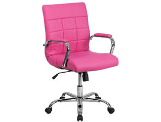 Madison Pink Swivel Chair, , large